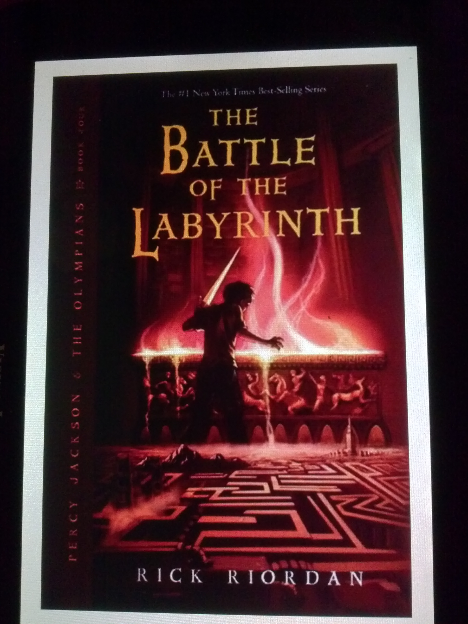 Percy Jackson & The Olympians: The Battle Of The Labyrinth ...