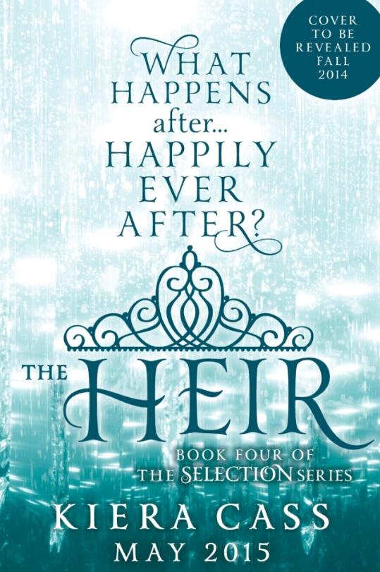 Kiera Cass announces new books in The Selection series ... The Selection Series In Order