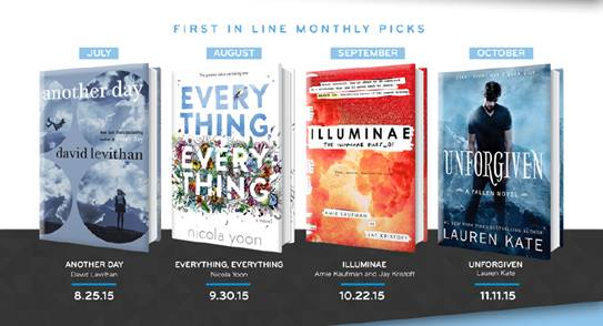 First in Line | New Program by Random House & Giveaway (2/2)